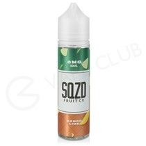 Mango Lime Shortfill E-Liquid by SQZD 50ml
