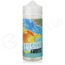Mango, Peach & Pineapple Shortfill E-Liquid by Fresco Fruits 100ml