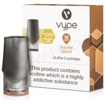 Master Blend ePen 3 Nic Salt Prefilled Vape Pod by Vype