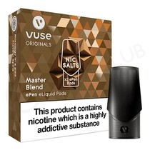 Master Blend ePen Nic Salt Prefilled Vape Pod by Vuse