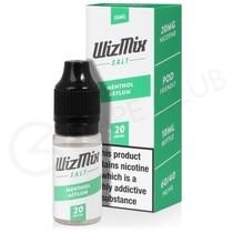 Menthol Asylum Nic Salt E-liquid by Wizmix