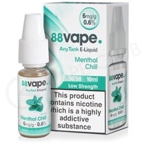 Menthol Chill E-Liquid by 88Vape Any Tank
