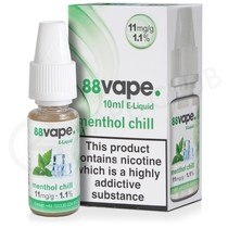 Menthol Chill E-Liquid by 88Vape