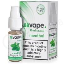 Menthol E-Liquid by 88Vape