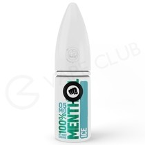 Menthol Ice Hybrid Salt E-Liquid by Riot Squad