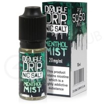 Menthol Mist Nic Salt E-Liquid by Double Drip