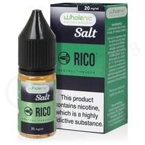 Menthol Tobacco Nic Salt E-Liquid by Wholenic Rico