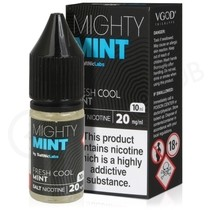 Mighty Mint Nic Salt eLiquid by VGod
