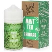 Mint Tea & Rhubarb Shortfill E-Liquid by Wild Roots 50ml