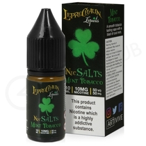 Mint Tobacco Nic Salt E-Liquid by Leprechaun Liquids
