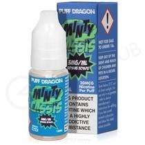 Minty Cassis E-Liquid by Puff Dragon