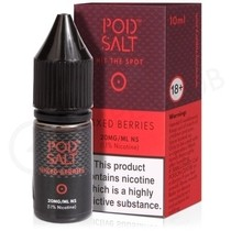 Mixed Berries Nic Salt E-Liquid by Pod Salt