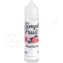 Mixed Berries eLiquid by Simply Fruit 50ml