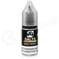 Mixed Berry Nic Salt E-Liquid by V4 VAPOUR