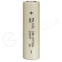 Molicel 20700 Rechargeable Vape Battery (3000mAh 30A)