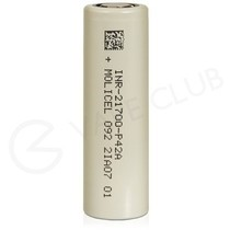 Molicel 21700 Rechargeable Vape Battery (4000mAh 30A)
