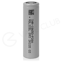 Molicel P28A 18650 Rechargeable Vape Battery (2800mAh 25A)