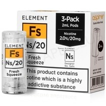 NS20 & NS10 Fresh Squeeze E-liquid Pod By Element