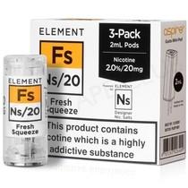 NS20 & NS10 Fresh Squeeze E-liquid Pod By Element