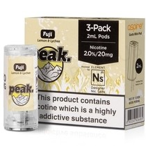 NS20 & NS10 Fuji E-liquid Pod by Peak