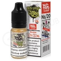 NS20, NS10, NS5 Neon Green Slushie Nic Salt E-Liquid By FAR