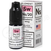 NS20, NS10 & NS5 Strawberry Whip E-liquid by Element