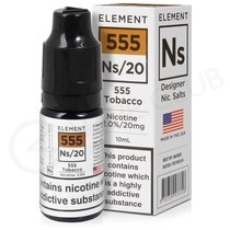 NS20, NS10 & NS5 555 Tobacco E-Liquid by Element