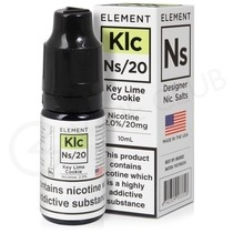 NS20, NS10 & NS5 Key Lime Cookie E-Liquid by Element