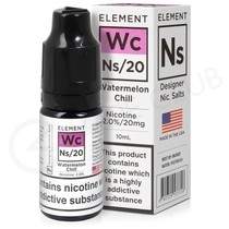 NS20, NS10 & NS5 Watermelon Chill E-Liquid by Element