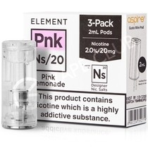 NS20 & NS10 Pink Lemonade E-Liquid Pod by Element