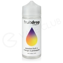 Passion Fruit Mango & Pineapple Shortfill E-Liquid by Fruit Drop 100ml