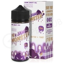 PB & Grape 100ml Shortfill by PB & Jam Monster