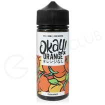 Peach & Apricot Shortfill E-Liquid by Okay Orange 100ml