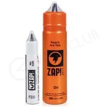 Peach Ice Tea Shortfill E-liquid by Zap Juice 50ml