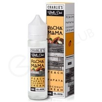 Peach, Papaya and Coconut Cream Shortfill E-Liquid by Pacha Mama 50ml