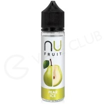 Pear Ice Shortfill E-Liquid by NU Fruit 50ml