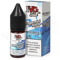 Peppermint Breeze Nic Salt E-Liquid by IVG