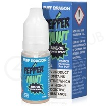 Peppermint E-Liquid by Puff Dragon