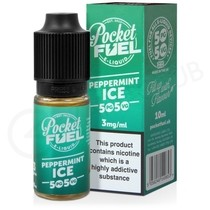Peppermint Ice E-Liquid by Pocket Fuel 50/50