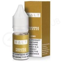 Pineapple Breeze Nic Salt E-Liquid by Salt