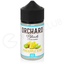 Pineapple Kiwi Ice Shortfill E-Liquid by Five Pawns Orchard Blends 50ml