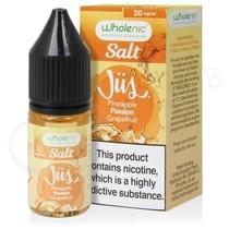 Pineapple Passionfruit & Grapefruit Nic Salt E-Liquid by Wholenic Jus
