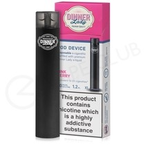 Pink Berry Dinner Lady Disposable Device