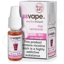 Pink Lemonade E-Liquid by 88Vape Any Tank