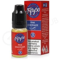Pink Lemonade E-Liquid by Fifty 50