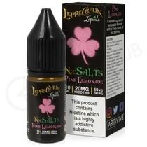 Pink Lemonade Nic Salt E-Liquid by Leprechaun Liquids
