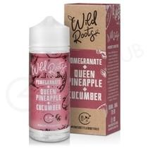 Pomegranate, Queen Pineapple & Cucumber Shortfill E-Liquid by Wild Roots 100ml