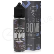 Purple Bomb Shortfill E-Liquid by VGOD Bomb Line 50ml