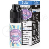 Purple Rain Nic Salt E-Liquid by Dinner Lady