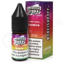 Rainbow Candy Drops Nic Salt E-Liquid by Moreish Puff